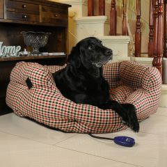 Hot Dog Sewerby Heated Dog Bed